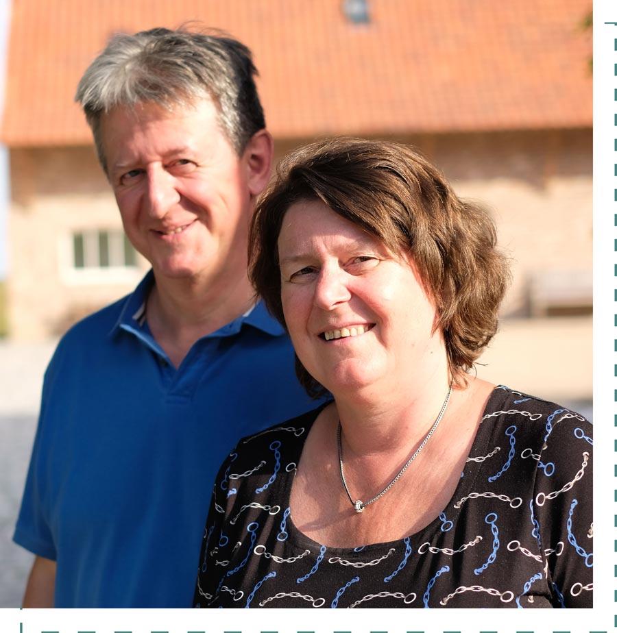 Philippe en Sabine Hof ter Heidje
